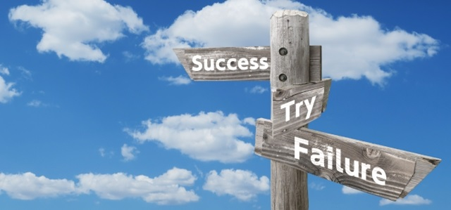 成功、挑戦、失敗の道標