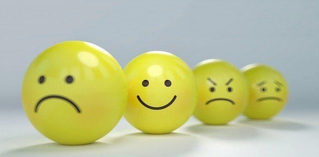 喜怒哀楽の表情