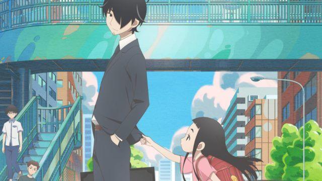 TVアニメ『かくしごと』の可久士と姫